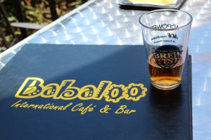 Babaloo, in Villagio Town Center was a happy discovery during the Wild West Katy BrewFest