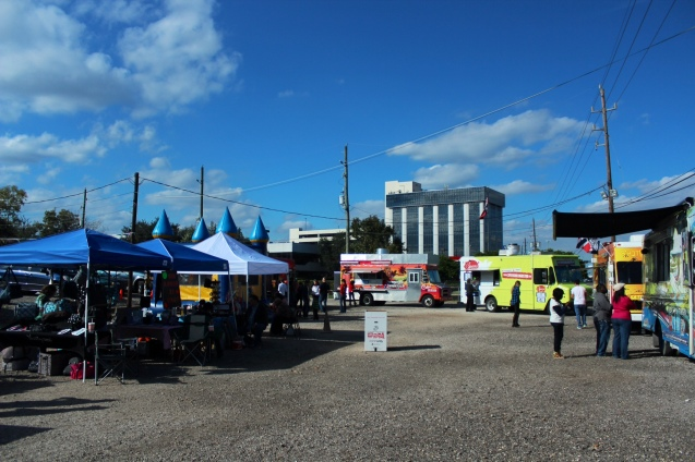 Food Trucks & Retailers were on hand for Small Business Saturday's Block Party at My Food Park HTX